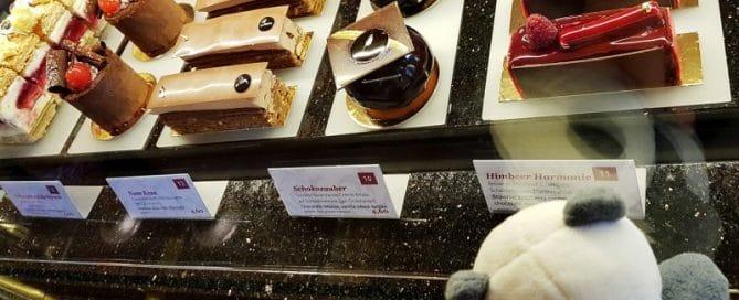 Cake Display at Café Central, Vienna, Austria
