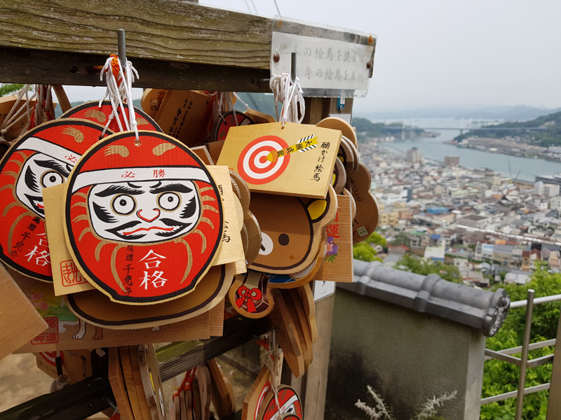 Mister Wong in Onomichi, Japan, Okayama Preceture, Port, Cat Lover City, Shrine, Temple, Cable Car, Look-Out, panoramic view