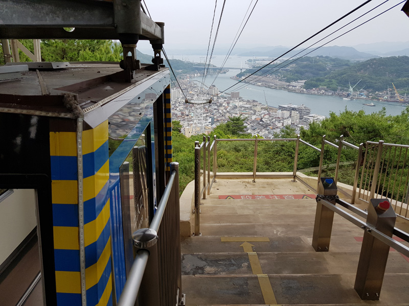 Mister Wong in Onomichi, Japan, Okayama Preceture, Port, Cat Lover City, Shrine, Temple, Cable Car