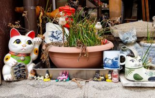 Mister Wong in Onomichi, Japan, Okayama Preceture Port Cat Lover Town