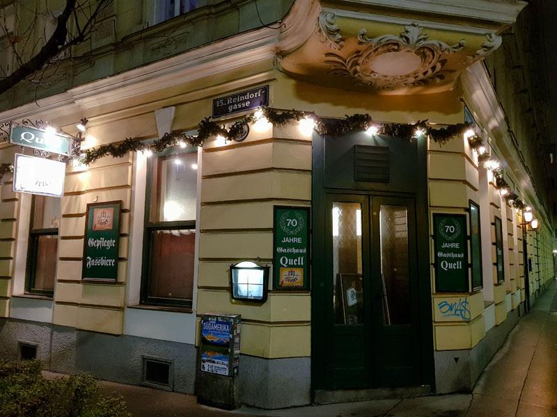 Gasthaus Quell in Vienna, Austria