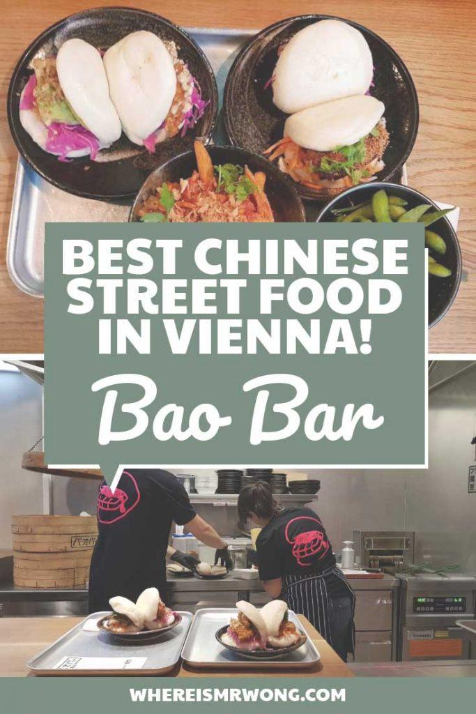 Bao, Sweet Potato Fries and Edamame at Bao Bar Vienna Austria