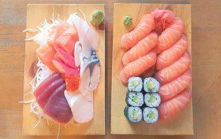 Kojiro Sushi Bar Fish Shop Naschmarkt Vienna Wien Austria - Authentic Traditional Japanese Japanschies Sushi Restaurant Sushi Set