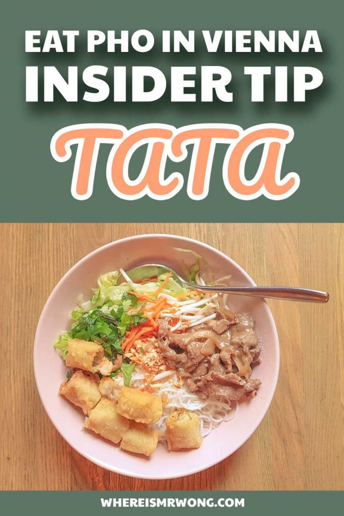 Rice Time and TATA serve Vietnamese Fusion food to the Viennese to ease their cravings for the Southeast Asian cuisine when they just do not have the time to travel to Vietnam by themselves.