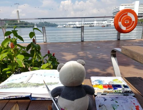 Out and About with the Urban Sketchers Singapore