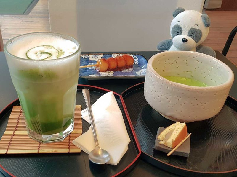 You think you need to travel as far as to Japan to taste authentic Japanese Matcha Green Tea? If you are in Vienna, make a brief stop at Cha no Ma near Naschmarkt. They are a small Teahouse serving traditional Japanese Matcha green tea straight from Japan. I love their Iced Matcha Latte as well as Matcha Ice Cream. Perfect for hot Summer days! They also serve handmade Onigiri rice balls, Daifuku Mochi as well as delicious Matcha Tiramisu and Cheese cake. #matcha #chanoma #thingstodovienna